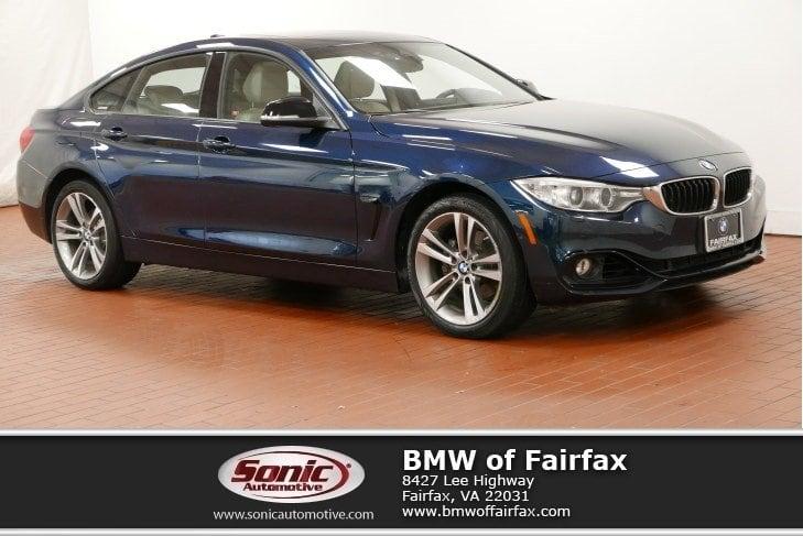 Photo Certified Used 2015 BMW 428i xDrive Gran Coupe Sedan in Fairfax, VA