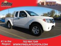 Pre-Owned 2012 Nissan Frontier 2WD King Cab I4 Auto SV RWD Extended Cab Pickup