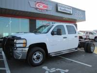 2011 Chevrolet 3500HD Crew Cab 4x4 Diesel Chassis DRW Work Truck