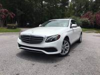 Pre-Owned 2017 Mercedes-Benz E-Class E 300 Luxury Rear Wheel Drive Sedan