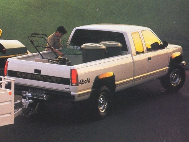 Photo Used 1993 Chevrolet C3500 Cheyenne Fleetside Truck Extended Cab For Sale in Heber Springs. AR