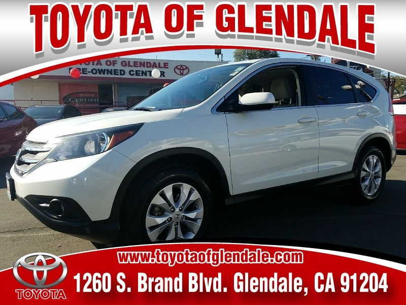 Photo Used 2014 Honda CR-V, Glendale, CA, , Toyota of Glendale Serving Los Angeles  5J6RM3H51EL035594