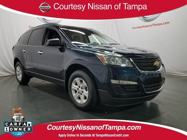 Photo Pre-Owned 2017 Chevrolet Traverse LS SUV in Jacksonville FL