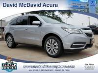 2016 Acura MDX MDX with Technology Package