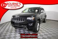 2014 Jeep Grand Cherokee Overland 4x4 w/ Navigation,Leather,Sunroof,Heated/Cooled Front Seats,Heated Rear Seats, And Backup Camera.