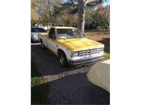 Chevy s-10 Tahoe first ed