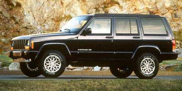 Photo Pre-Owned 1998 Jeep Cherokee LIMITED 4WD Sport Utility