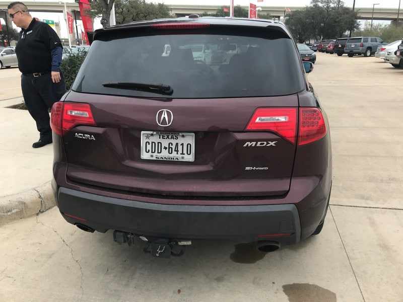 Photo Used 2008 Acura MDX For Sale in San Antonio TX  2HNYD28368H510226