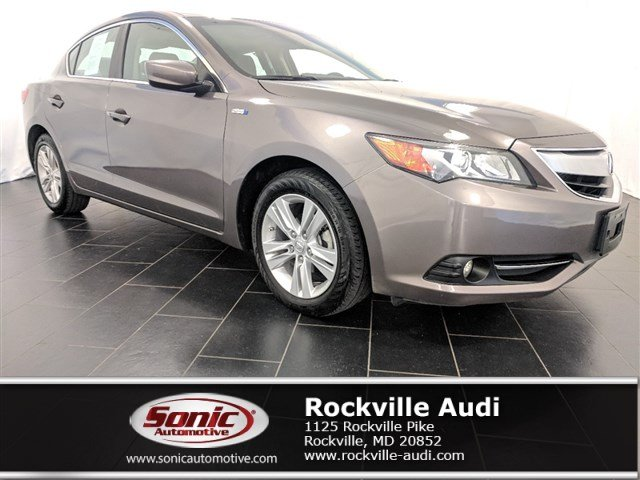 Photo Used 2014 Acura ILX Hybrid 1.5L wTechnology Package Sedan in Rockville, MD