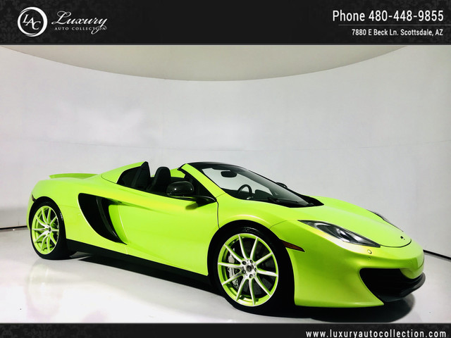 Photo 2013 McLaren MP4-12C Spider  One of One MSO Build  375K MSRP  Carbon Everything  14 12 Rear Wheel Drive Convertible