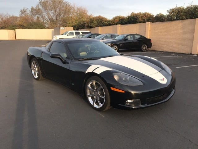 Photo Used 2008 Chevrolet Corvette Coupe For Sale in Fairfield, CA