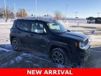 Used 2015 Jeep Renegade Limited 4X4 w/Heated leather Seats, Bluetooth, Bac SUV in Plover, WI