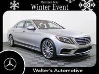 Certified Pre-Owned 2016 Mercedes-Benz S 550 Sport