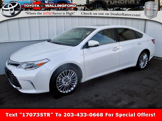 Photo Certified Used 2017 Toyota Avalon Limited For Sale in Wallingford CT  4T1BK1EB7HU259698