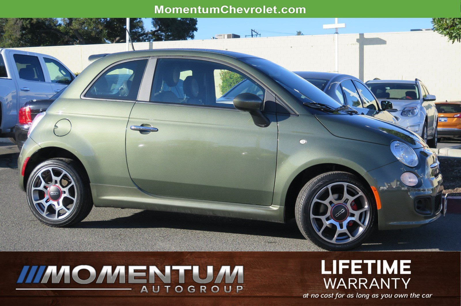 Photo Used 2012 FIAT 500 Sport Hatchback in Fairfield CA