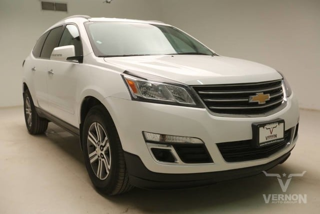 Photo Used 2017 Chevrolet Traverse LT AWD in Vernon TX