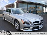 Certified Pre-Owned 2014 Mercedes-Benz SL-Class SL 550 RWD 2D Convertible