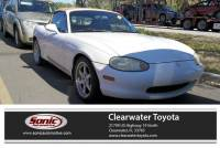 1999 Mazda MX-5 Miata Leather 2dr Conv Pkg Auto Convertible in Clearwater