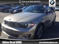 2012 BMW 1 Series 128i Convertible Rear-wheel Drive