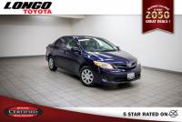 Certified Used 2013 Toyota Corolla Automatic L in El Monte