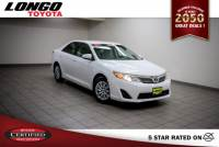 Certified Used 2013 Toyota Camry I4 Automatic L in El Monte