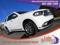 Used 2017 Dodge Durango Citadel Anodized Platinum Citadel Anodized Platinum AWD For Sale in Seneca, SC