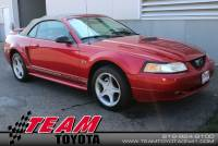 2000 Ford Mustang GT Convertible Rear-wheel Drive