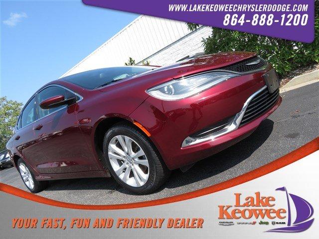 Photo Certified Used 2016 Chrysler 200 Limited Sedan For Sale NearAnderson, Greenville, Seneca SC