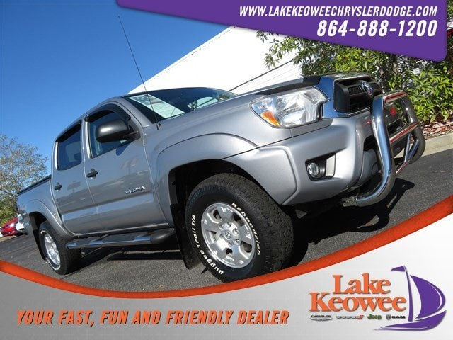 Photo Used 2015 Toyota Tacoma 4WD Double Cab V6 AT 4WD Double Cab V6 AT For Sale in Seneca, SC