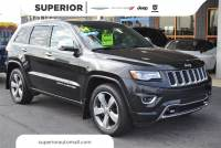 Used 2014 Jeep Grand Cherokee Overland 4WD SUV For Sale in the Fayetteville area