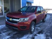 Used 2015 Chevrolet Colorado Crew Cab Short Box 4-Wheel Drive WT