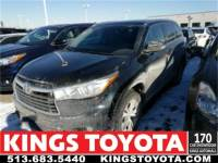 Certified Pre-Owned 2015 Toyota Highlander XLE V6 Sport Utility in Cincinnati, OH