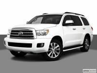 2010 Toyota Sequoia Platinum 4WD LV8 6-Spd AT (Natl) 4WD