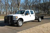 Used 2013 Ford F-350 Crew Cab 4WD w/Flat Bed W/Hay Bale Lift