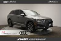 Certified Pre-Owned 2017 Audi Q7 3.0T SUV in Fairfield, CT