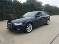 2013 Audi A4 Premium 4dr Car