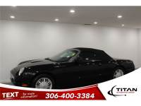 2002 Ford Thunderbird 3.9L V8 252HP Auto Leather Convertible
