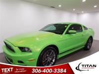 2014 Ford Mustang 305 HP HTD Seats manual Green Envy PST Paid
