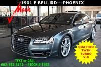 Used 2014 Audi S8 For Sale   Phoenix AZ   VIN: WAUD2AFD7EN002850