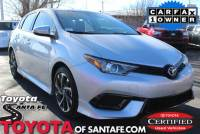 Certified Pre-Owned 2017 Toyota Corolla iM STD FWD Hatchback