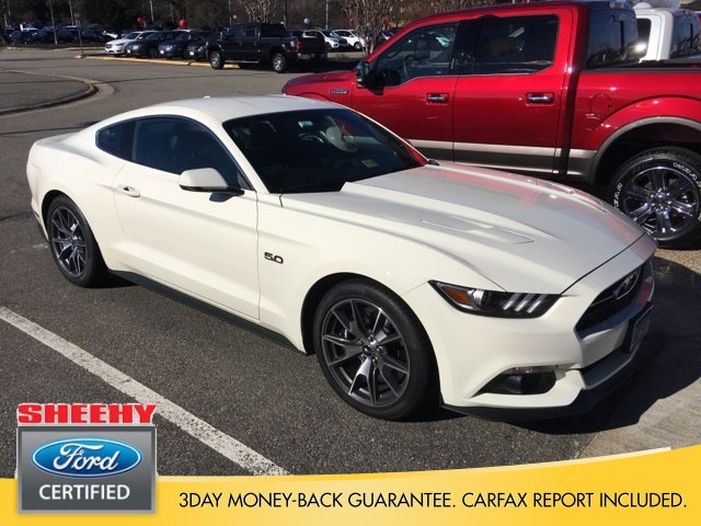 Photo Certified 2015 Ford Mustang GT 50 Years Limited Edition Coupe V-8 cyl in Richmond, VA