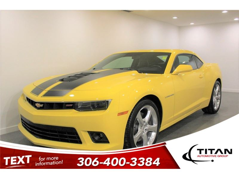 Photo 2014 Chevrolet Camaro 2SS 6.2L V8 426HP Manual Low Kms Yellow PST Paid