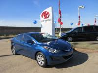 Used 2016 Hyundai Elantra SE Sedan FWD For Sale in Houston