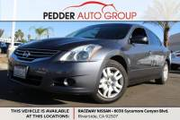 2012 Nissan Altima 2.5 Sedan in Hemet / Menifee CA
