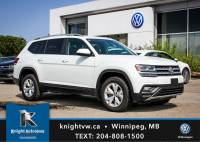 New 2018 Volkswagen Atlas Comfortline AWD w/ Backup Camera/App Connect/7 Seater AWD Sport Utility