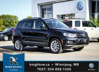Certified Pre-Owned 2017 Volkswagen Tiguan Wolfsburg Edition AWD w/ Car Play 0.99% Financing Avail. OAC AWD Sport Utility