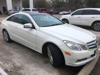 Pre-Owned 2010 Mercedes-Benz E 350 Rear Wheel Drive Coupe