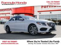 Pre-Owned 2017 Mercedes-Benz C-Class $100 PETROCAN CARD NEW YEAR'S SPECIAL! AWD