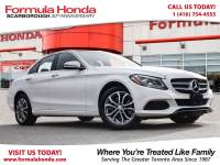 Pre-Owned 2016 Mercedes-Benz C-Class $100 PETROCAN CARD NEW YEAR'S SPECIAL! AWD