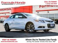 Certified Pre-Owned 2013 Honda Civic Coupe $100 PETROCAN CARD NEW YEAR'S SPECIAL! FWD Car